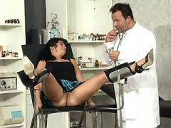 Depraved gynecologist is suduced by gorgeous milf