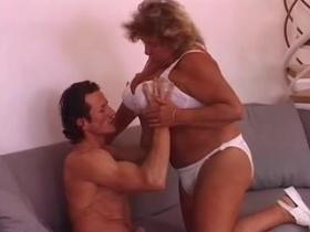 Fat grandma loves to feel big ramrod in her hole
