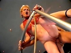 Horny stripper lets public fuck her