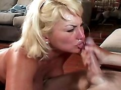 Horny granny crazy drilled by guy