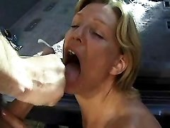 Milf rides strong cock and gets cum