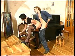 Laura&Mike seductive mom on video