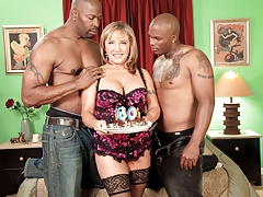 Double Chocolate-Stuffed Milf